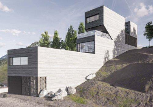 House Among The Rocks