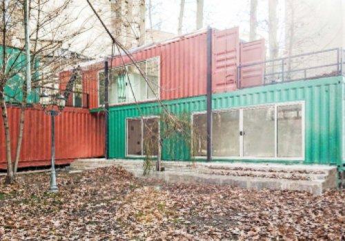 Container Garden House